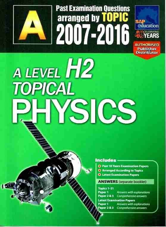 A Level Physics Tuition Singapore