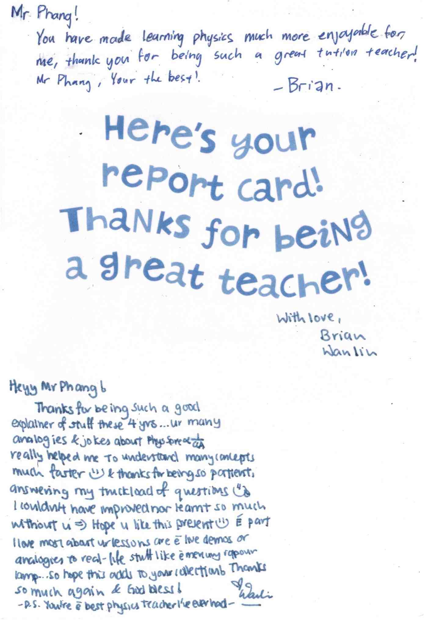 Teacher Appreciation: National Teachers